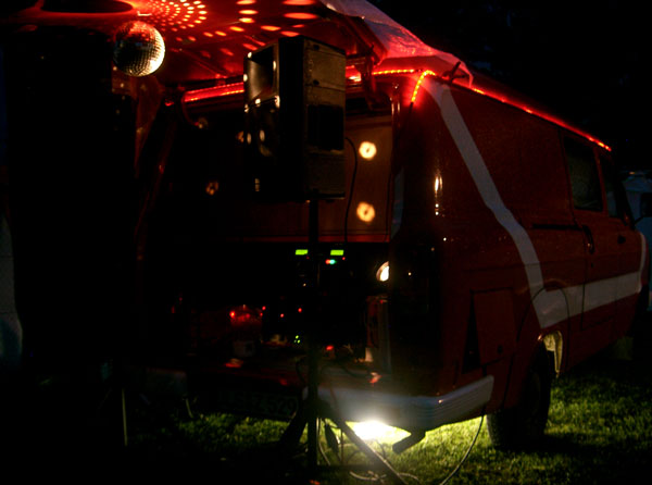 Soundmobil Stockdunkel